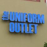 the UNIFORM OUTLET
