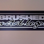 Brushed Metal Signs (1)