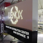 LENOX Monument Sign (Shop)